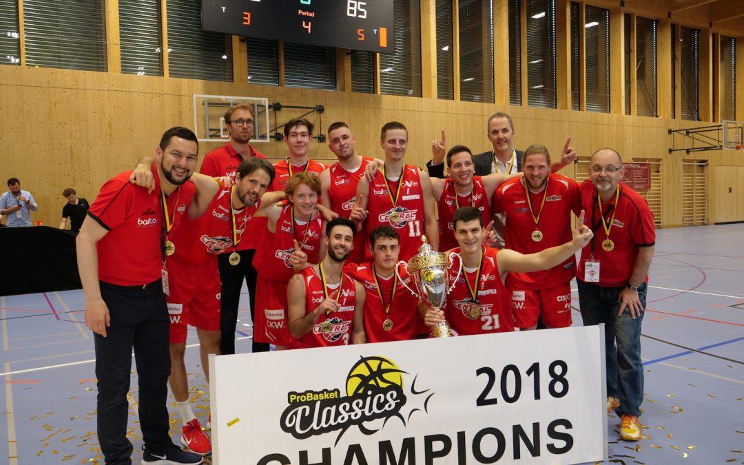 SCB gewinnt Probasket Classics / News zur finanziellen Sintuation