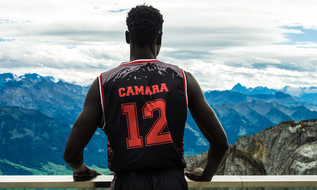 Ibrahima Camara hat ein Herz für benachteiligte Kinder