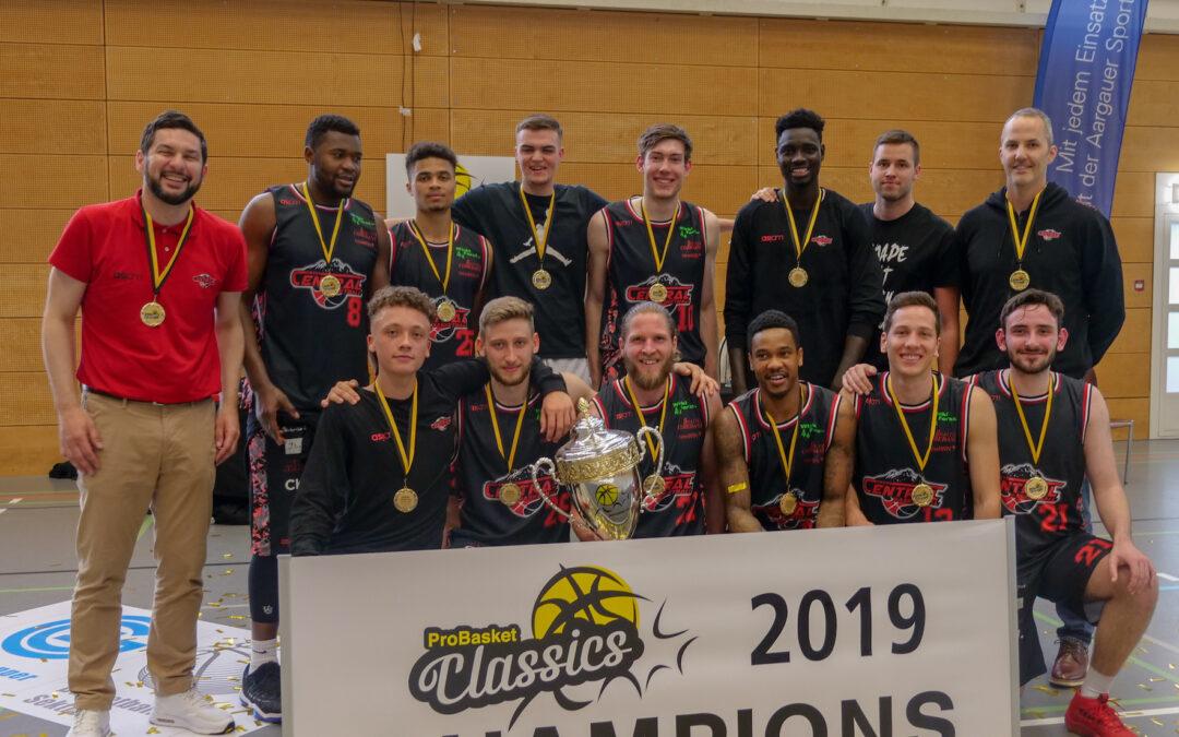 Klarer Sieg gegen GC: Swiss Central gewinnt den «Classics»-Cup!