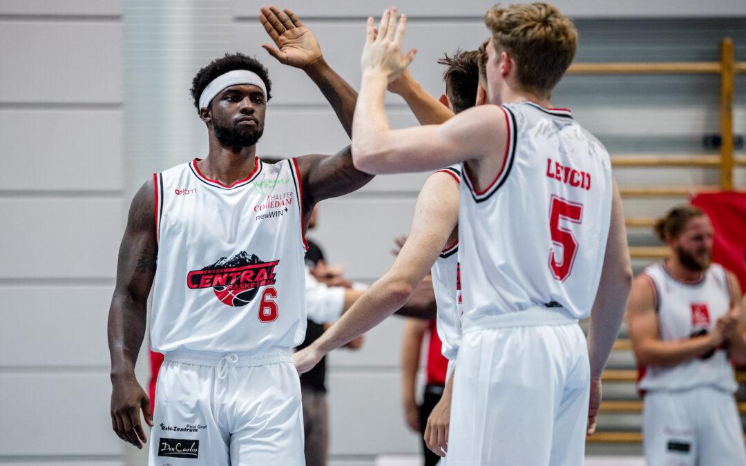 Zwei Heimspiele in einer Woche: Swiss Central empfängt Vevey Riviera Basket (Dienstag,  20 Uhr, Maihof) und Fribourg (Samstag, 18 Uhr)