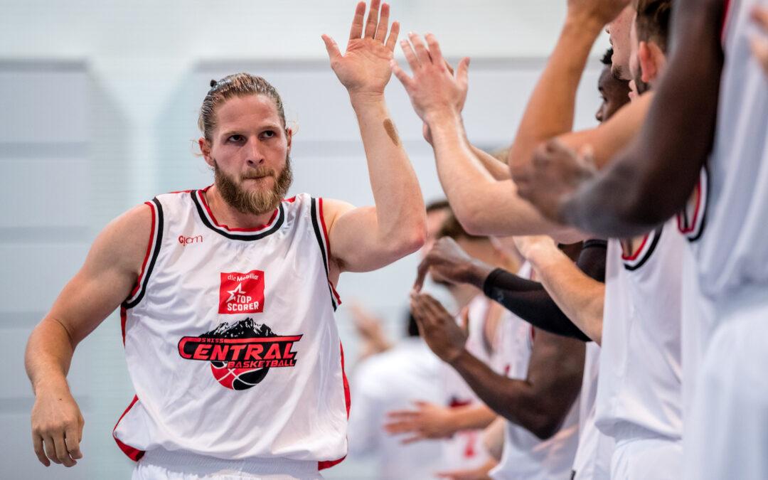 Offizielle Mitteilung: Swiss Central Basketball steigt freiwillig in die Nationalliga B ab