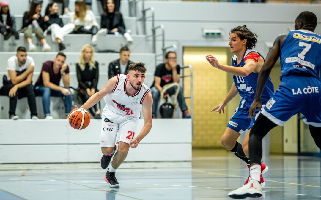 NLA, 5. Runde: Fribourg Olympic – Swiss Central Basketball 100:51 (59:25)