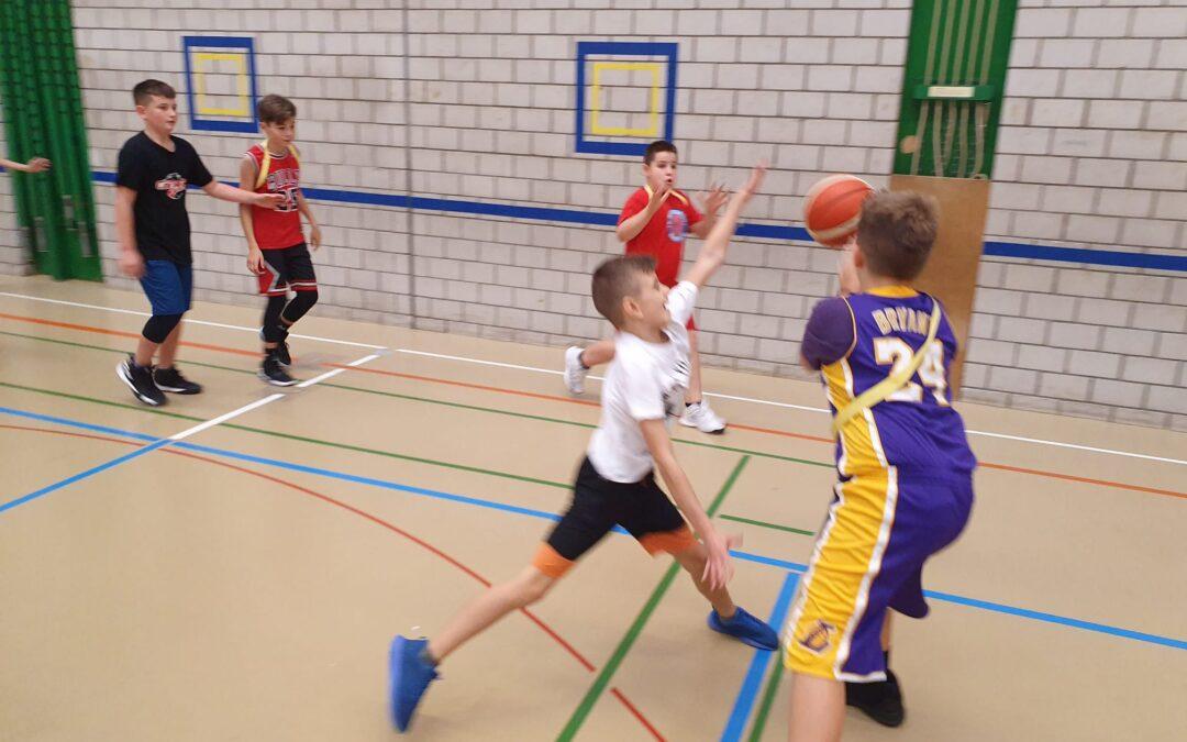 Basketball pur am SCB-Herbstcamp 2019