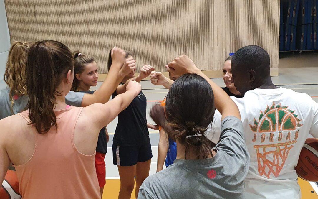 Das erste Juniorinnenteam in der Geschichte von SCB